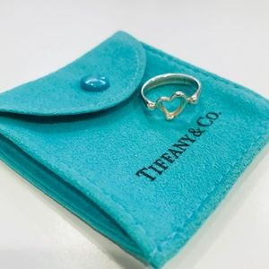 Tiffany & Co open heart ring